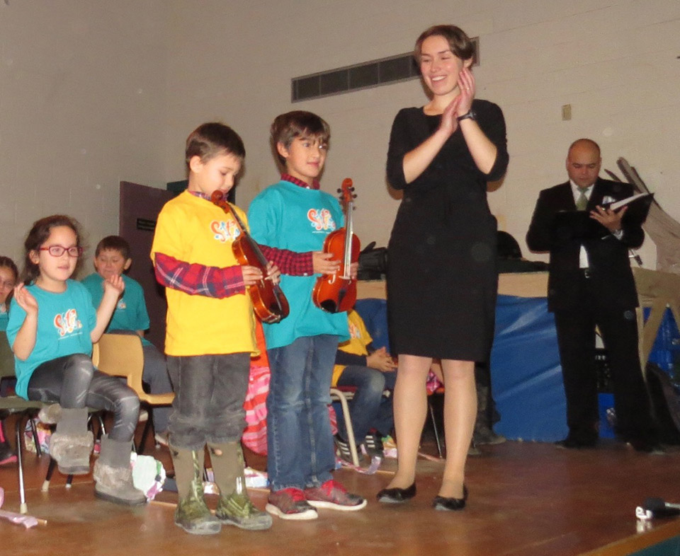 Elsipogtog First Nation Sistema NB program